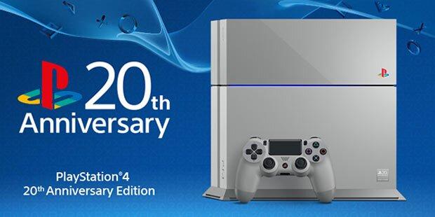 PlayStation 4 20th Anniversary Edition gewinnen