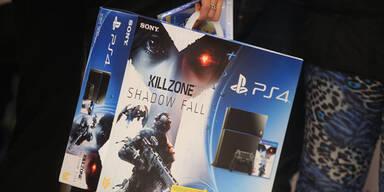 Sonys Playstation 4 ist klare Nummer 1