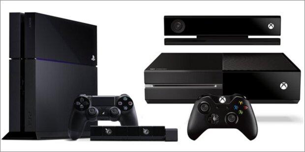 Verkaufsstart: Playstation 4 vs. Xbox One
