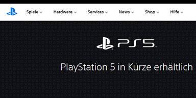 PS5: Sony schaltet Vorbestellseite frei