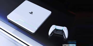 So cool könnte die PlayStation 5 aussehen