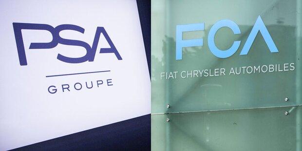 PSA und Fiat Chrysler fusionieren