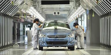 Chinesen steigen bei PSA-Konzern ein