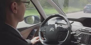 Fahrerloses Auto 580 km in Europa gefahren