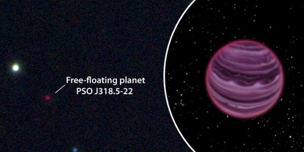 Neuer Planet im Weltall entdeckt