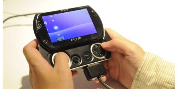 Portable Konsole PSP-Go vorgestellt