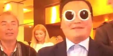 Cannes: Schwindler gibt sich als Psy aus