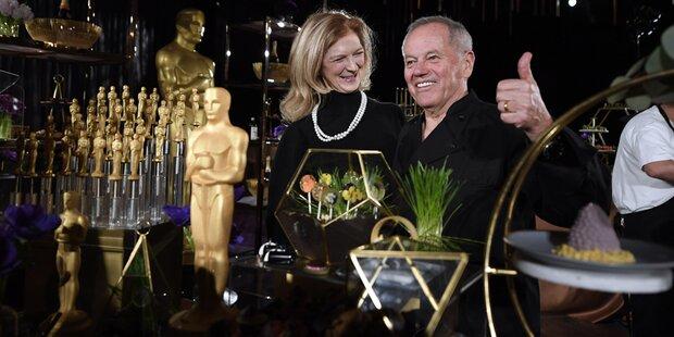 Oscar-Dinner: Puck serviert Stars Veganes und Backhendl