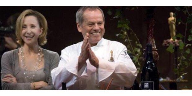 Wolfgang Puck bringt Ami-Kids gesundes Essen bei
