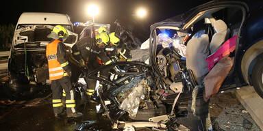 A1: Geisterfahrer verursacht Horror-Unfall