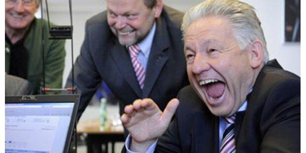 SPÖ verliert stark - FPÖ fast verdoppelt