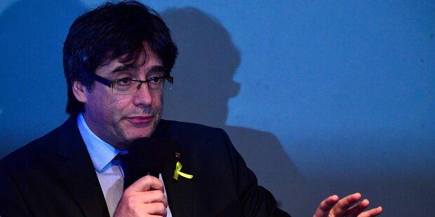 Deutschen wollen Auslieferung von Puigdemont