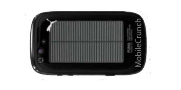 Puma-Handy kommt mit Solartechnik
