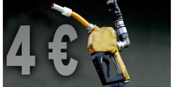 Benzinpreis klettert bis auf 4 Euro pro Liter
