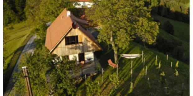 Ferienhäuser in den steirischen Weinbergen