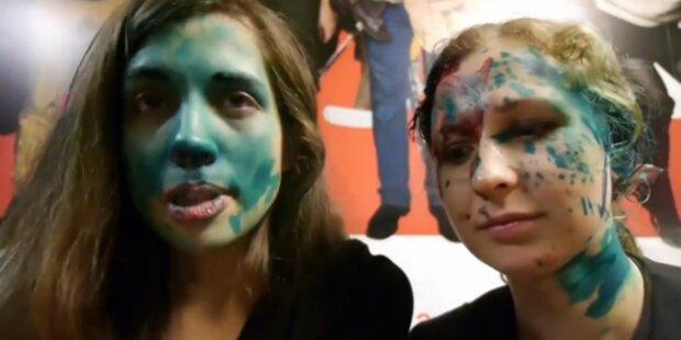 Pussy Riot-Aktivistin bei Angriff verletzt