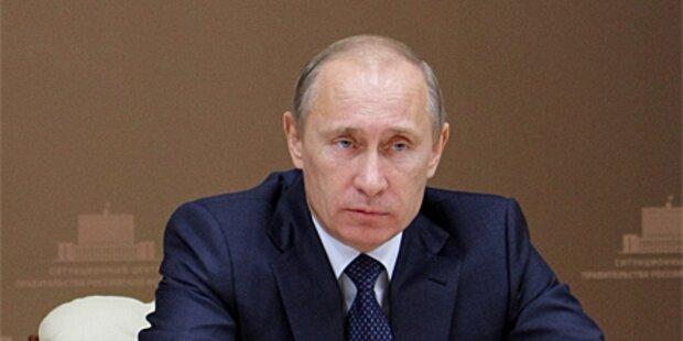 Opposition verklagt Putin wegen Rufmords