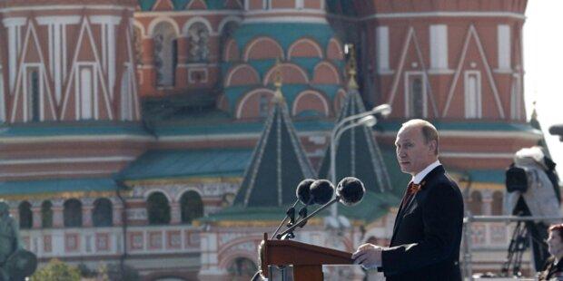 Russland: Putin lässt sich feiern