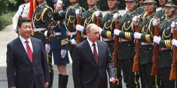 Putin verbündet sich mit China