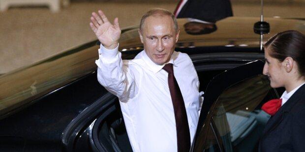 Wladimir Putin kommt nach Wien