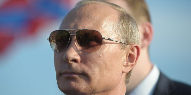 Putin hält Rede auf der Krim
