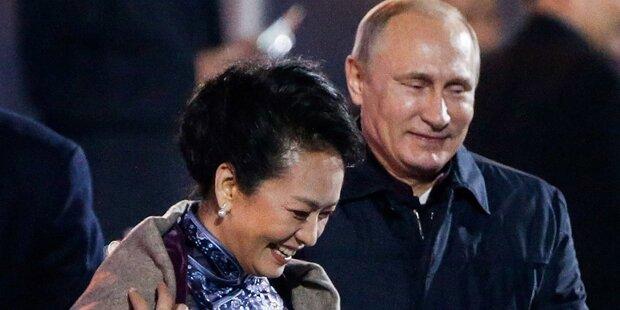 Aufregung um Putin und Chinas First Lady
