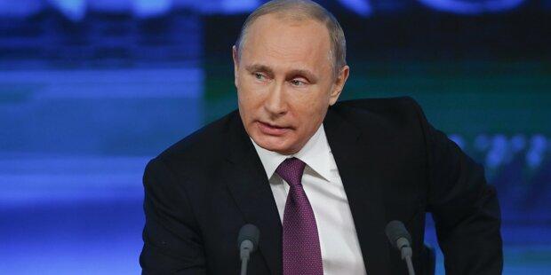 Rubel-Krise: Putin gibt Ausland die Schuld