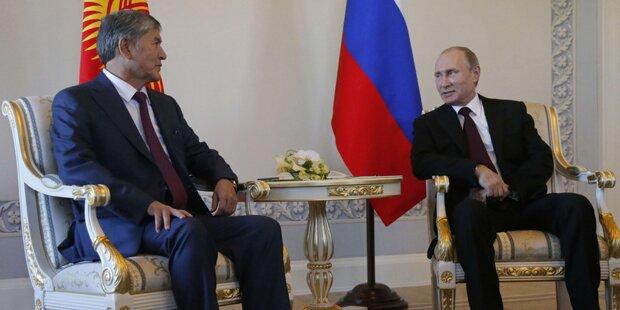 Wladimir Putin ist wieder da