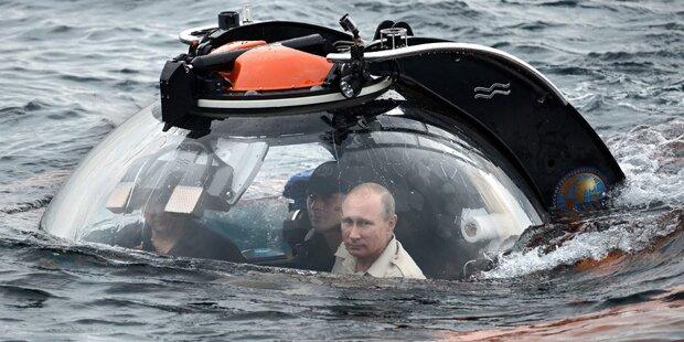 Wladimir Putin taucht ab