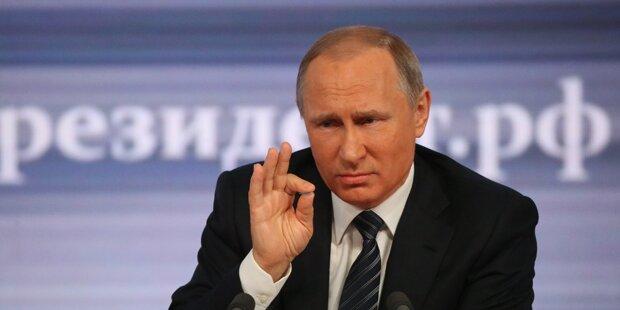 Putin bombadiert Flüchtlingslager