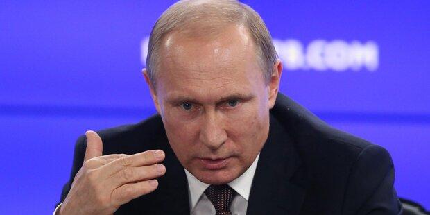 Putin droht