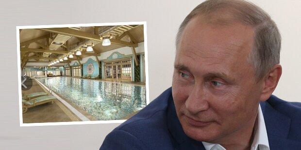 Unglaublicher Luxus: Putins neuer Ferien-Palast