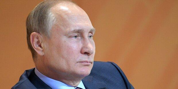 Umfrage-Schock für Putin