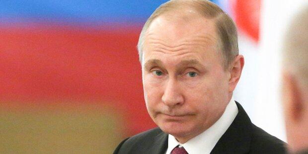 Putin gewinnt Wahlen haushoch