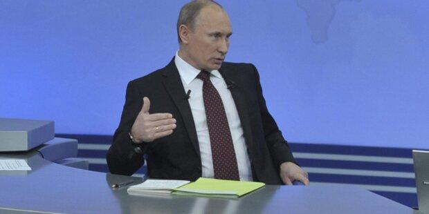 Putin verteidigt umstrittene Wahlen