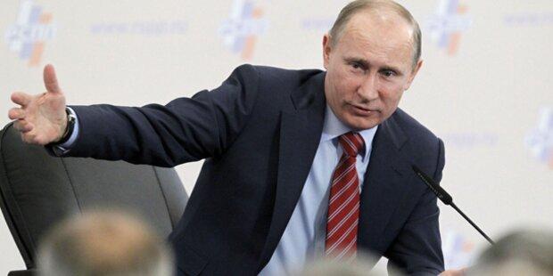Putin fordert: Mehr Sex in Russland