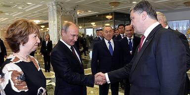Ukraine: Putin für Waffenruhe