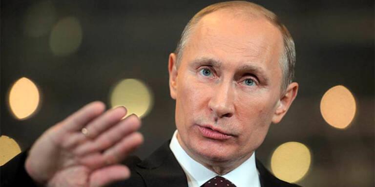 """Putin: """"Ich brauche keine Tricks"""""""