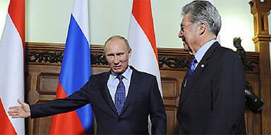 Wladimir Putin, Heinz Fischer