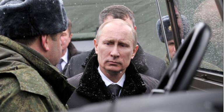 Terror-Anschlag auf Putin verhindert