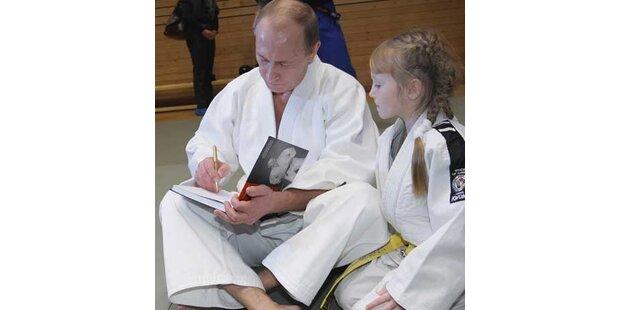 Putin will ins Judo-Nationalteam