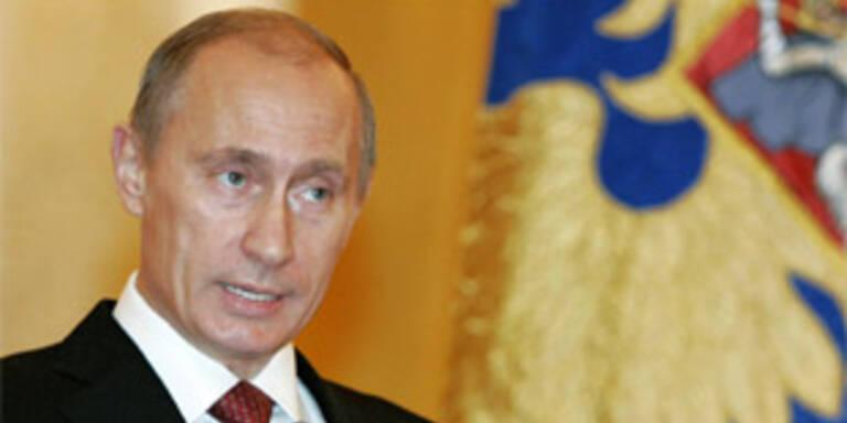 Putin unterzeichnet Aussetzung des KSE-Vertrags
