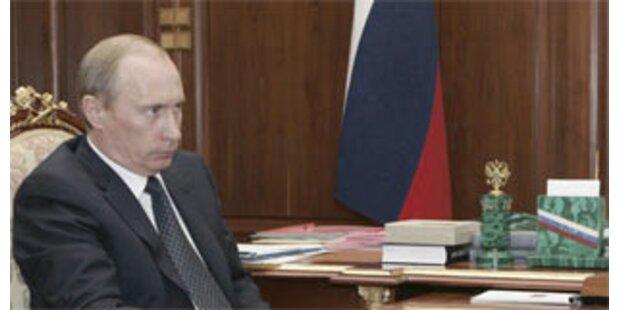 Mordanschlag auf Putin verhindert