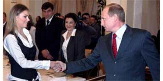 Putin bestreitet Affäre mit Alina