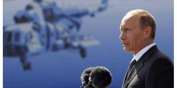 Putin fordert 1 Milliarde von EU