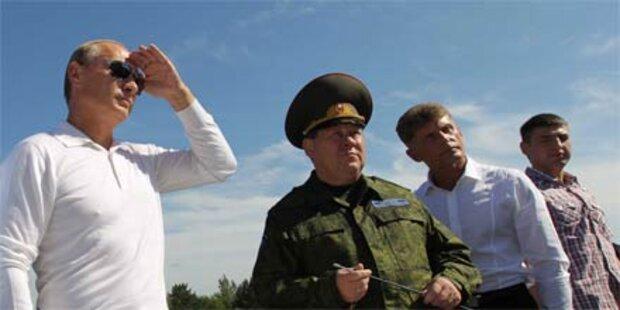 Putin schickt wieder Kosmonauten ins All