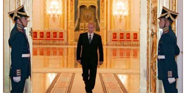 Putin entlässt russische Regierung