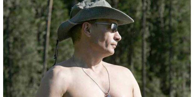Putin zeigt Muskeln