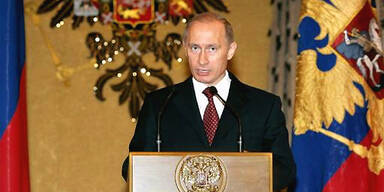 """Georgien befinde sich unter dem Schutz von """"ausländischen Förderern"""" und wolle Russland provozieren, erklärte Präsident Wladimir Putin."""