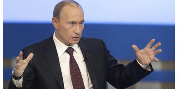 Putin spricht von hoher Terror-Gefahr